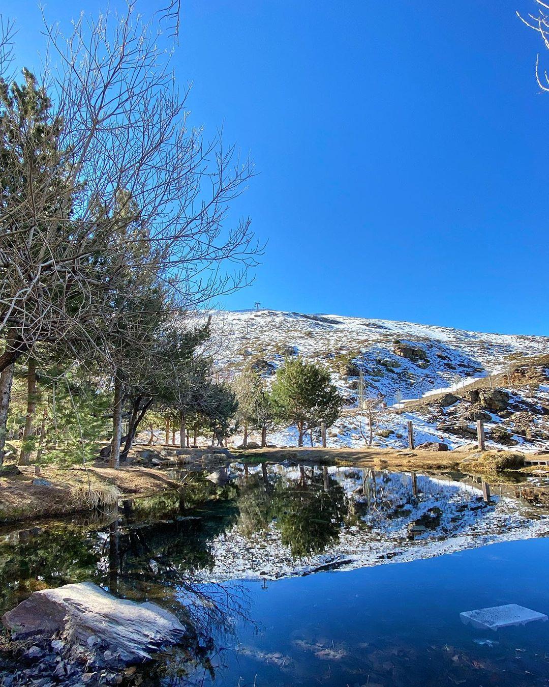 Gunung sierra nevada