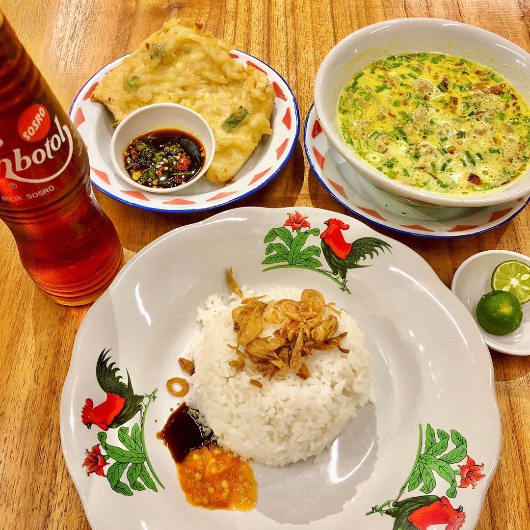 Nasi empal gentong