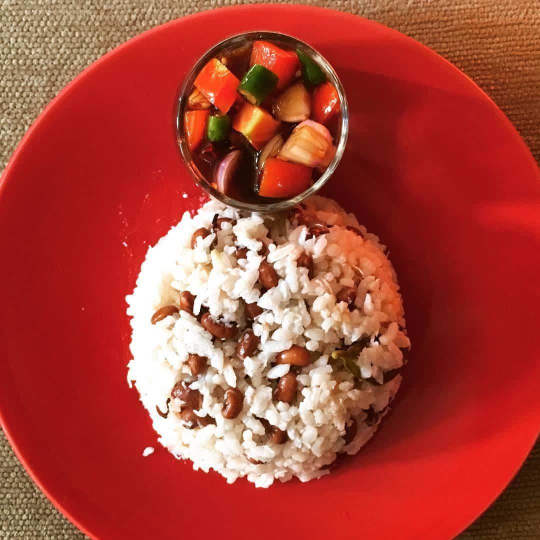 Sambal nasi lapola