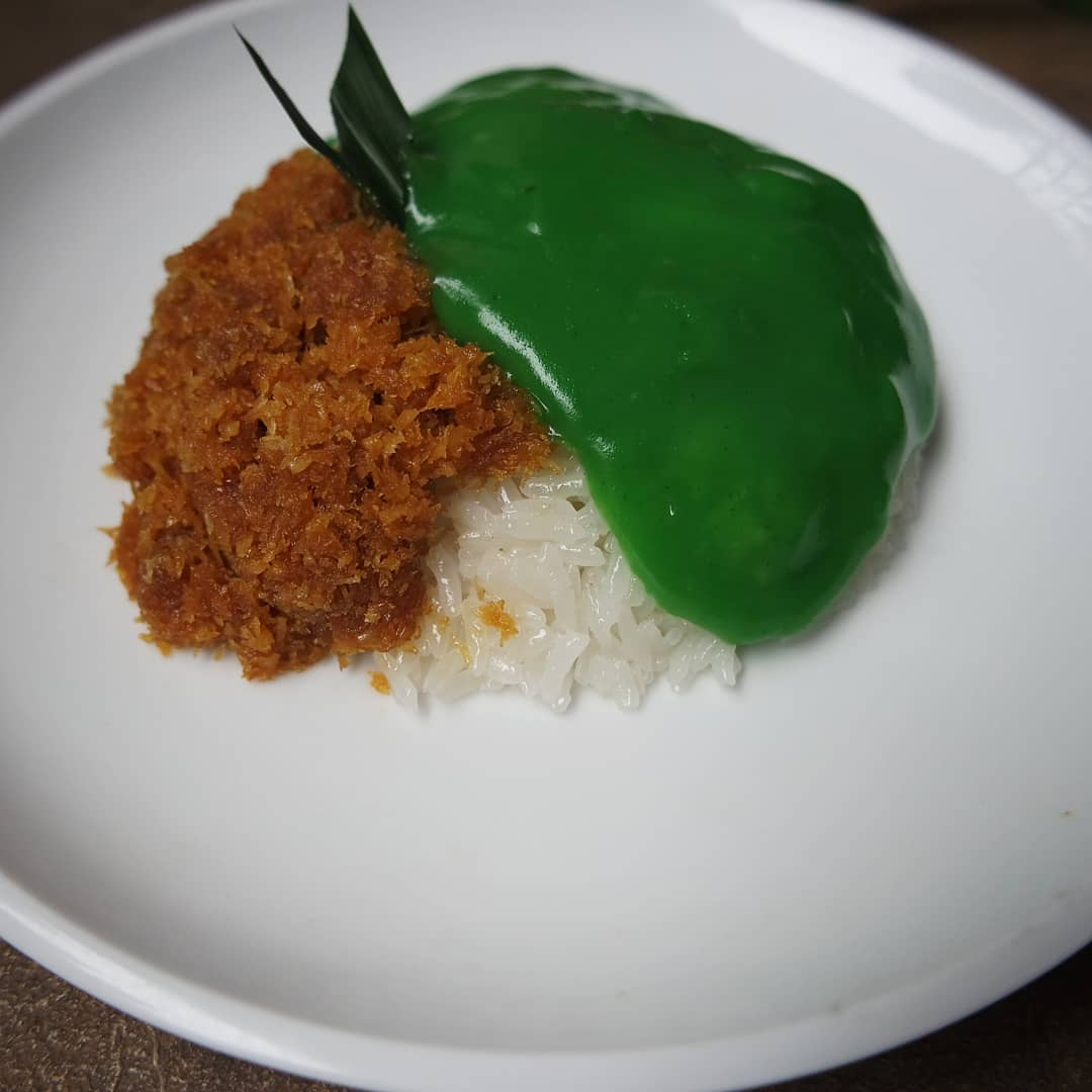Ketan nasi pulut srikaya