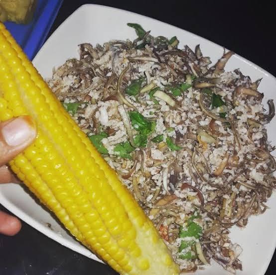 Jagung sayur putunggo