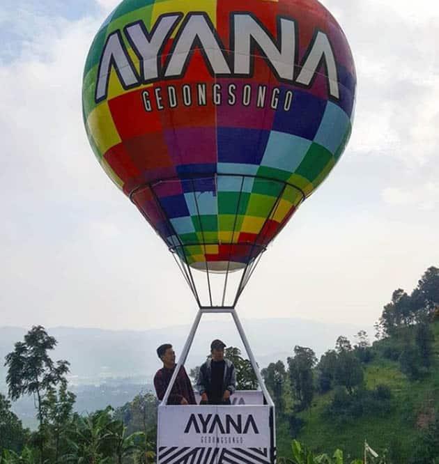 Ayana Gedongsongo Balon