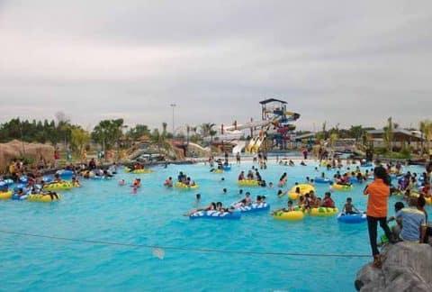 Harga Tiket Masuk dan Peta Lokasi Boombara Waterpark Pekanbaru 2