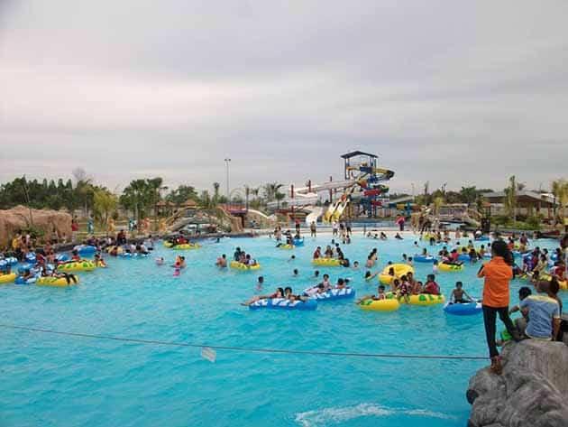 Harga Tiket Masuk dan Peta Lokasi Boombara Waterpark Pekanbaru 9