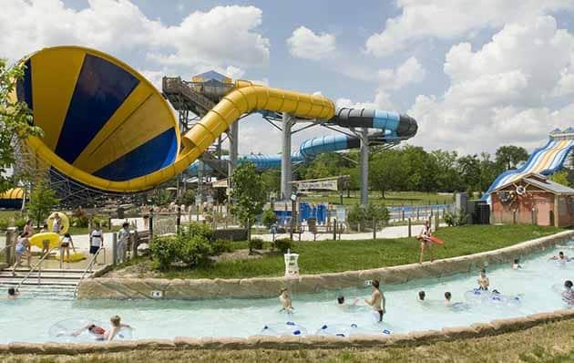 Columbus Waterpark Wahana