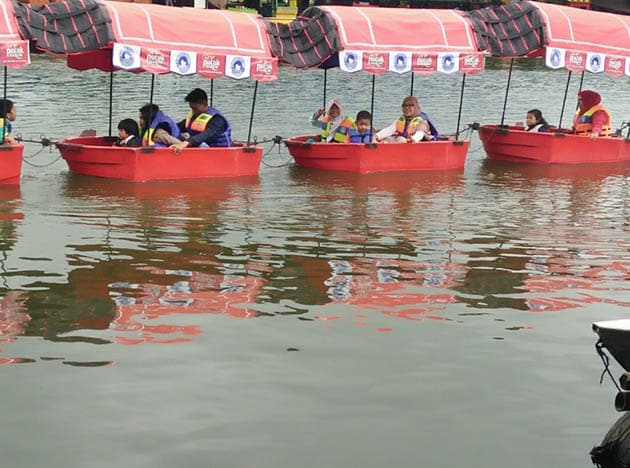 Floating Market Merah