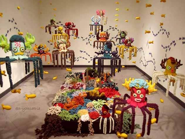 Galeri Nasional Indonesia Ramai