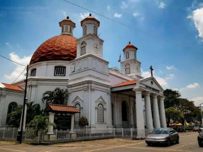 Wisata Gereja Blenduk Semarang, Sejarah Singkat dan Jadwal Ibadah 1