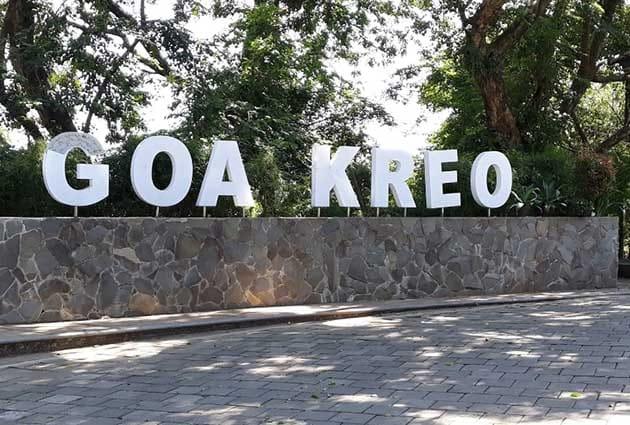 Goa Kreo Tulisan