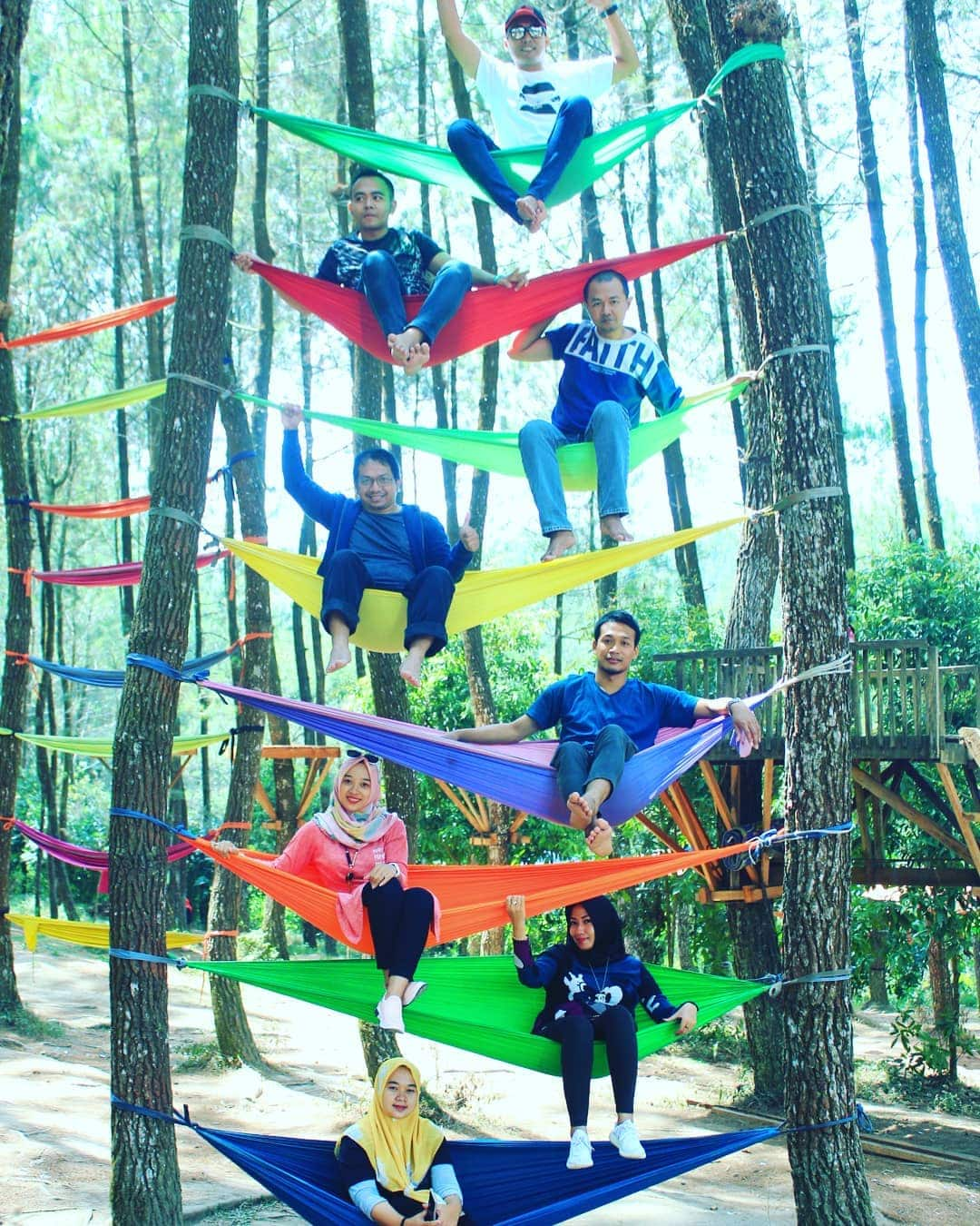 Hutan Pinus Kragilan Magelang 2