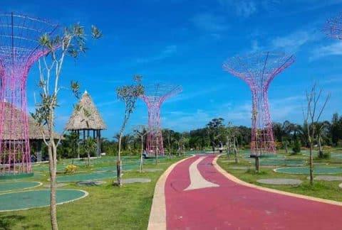 Harga Tiket Masuk dan Peta Lokasi Jambi Paradise Wisata Baru Jambi 17