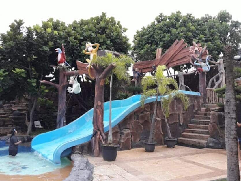 Jungle-Toon-Waterpark-Monyet