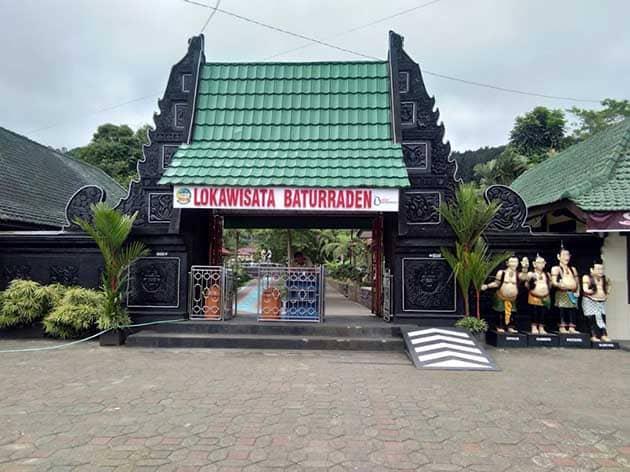 Lokawisata Baturaden Plang