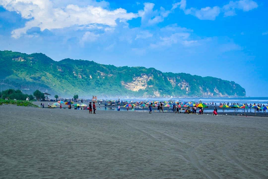 Luas dan Panjang Pantai Parangtritis