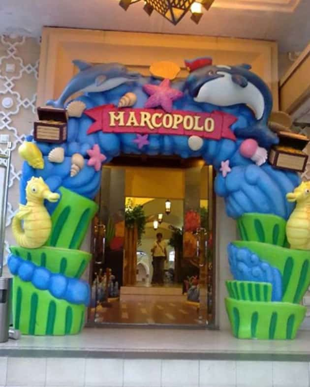 Marcopolo Waterpark Adventure Gerbang