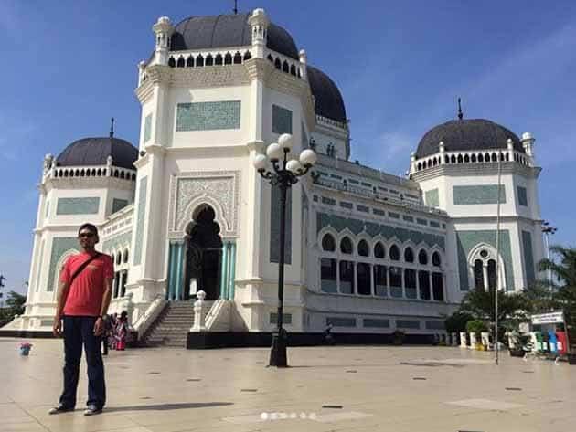 Sejarah dan Keunikan Masjid Raya Medan, Peta Lokasi + Hotel Terdekat 1