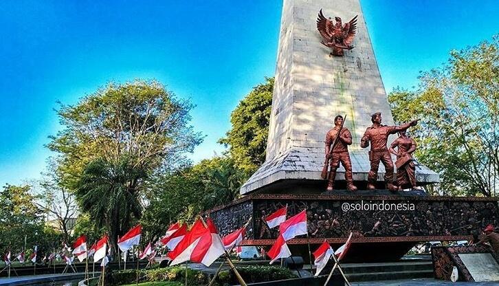 Monumen 45 banjarsari @soloindonesia