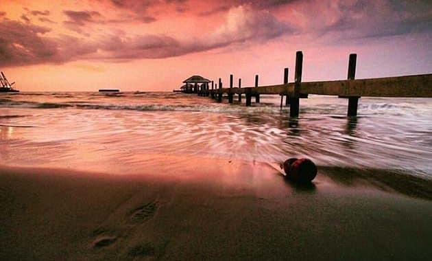 Pantai Alam Indah Sunset