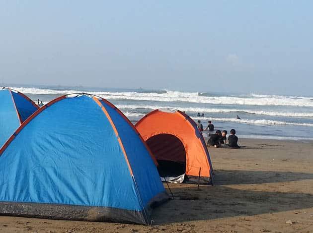 Pantai Begedur Camping