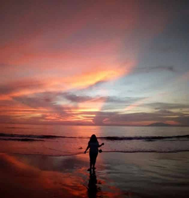 Pantai Sambolo Anyer Sunset