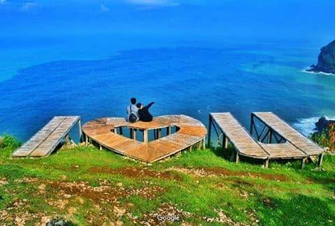 Tiket Masuk dan Peta Lokasi Pantai Sawangan Karangwaru Kebumen 5