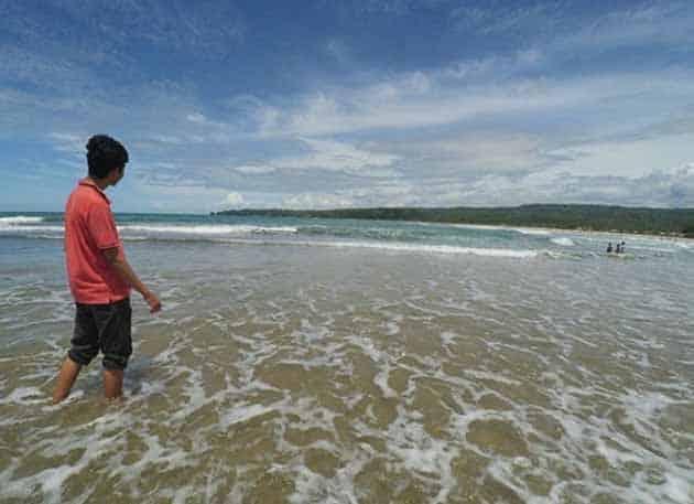 Pantai Sawarna Panjang