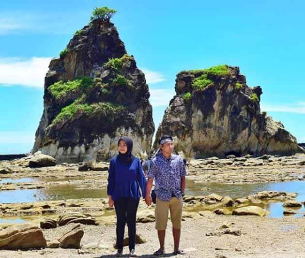 Pantai Sawarna Banten 1