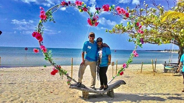 Pantai bandengan romantis