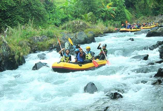 Wisata Adrenalin Rainbow Rafting Randudongkal Pemalang Dan Biaya