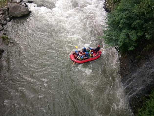 Rainbow Rafting Randudongkal Drone
