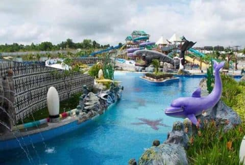 Harga Tiket Masuk Dan Peta Lokasi Labersa Riau Fantasi Theme Park 3