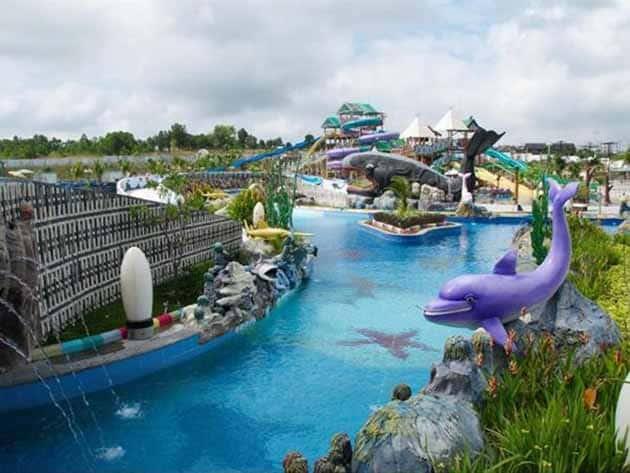 Harga Tiket Masuk Dan Peta Lokasi Labersa Riau Fantasi Theme Park 1