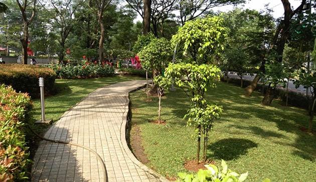 Taman Potret Trotoar