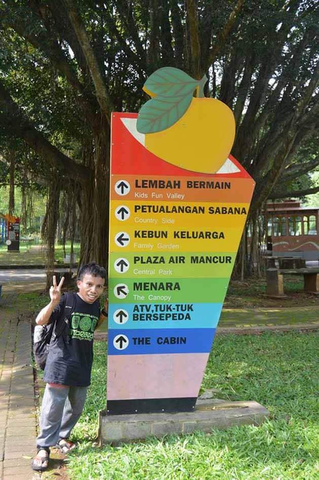Taman Wisata Mekarsari Bogor Daftar