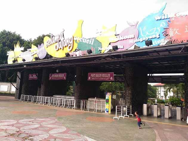 Taman Wisata Mekarsari Bogor Pintu Masuk