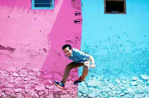 dinding warna jodipan