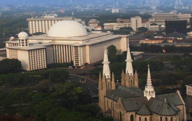 Sejarah Singkat Gereja Katedral Jakarta dan Peta Lokasi 6