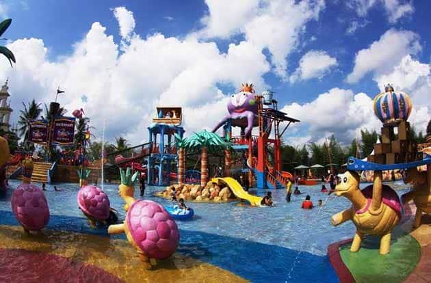 slanik waterpark kanak kanak